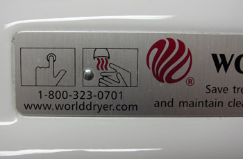Hand Dryer Instructions