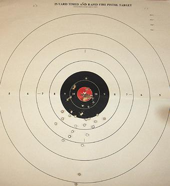 Target practice, yo
