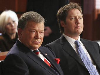 William Shatner and James Spader