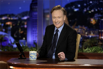 Conan O'Brien takes over The Tonight Show